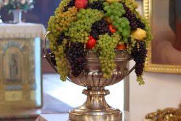Освящение овощей и фруктов на праздник Преображения Господня
