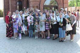 Поздравление женщин в Неделю жен-мироносиц. Фото