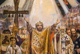 Добавлена проповедь в праздник Крещения Руси