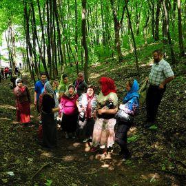 Паломники не ищут легких путей Паломничество. Поездка в Святогорскую Лавру. 27 мая 2012 г.