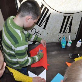 Оригами - настоящее искусство Пасха и презентация книги проповедей отца Виктора. 21.04.2014 г.