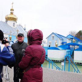 Процесс создания фильма о паломнической поездке в Почаевскую лавру Паломничество. Почаев 30.12.2014 - 03.01.2015 г.