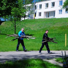 Мужчины принесли дрова… Выезд на природу духовных чад отца Виктора. 17.05.2015 г.