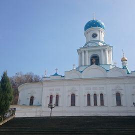 Покровская церковь, Святогорская лавра Паломническая поездка в Святогорскую Лавру. 9-10 апреля 2016 г.