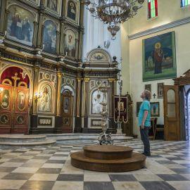 В северной части старого Котора находится церковь Святого Николая - 1909 года постройки Паломническая поездка отца Виктора в Черногорию. 10-24 июля 2016 г.