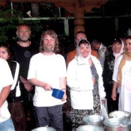 Дивеево, на источнике преподобного Серафима Саровского чудотв. Екатеринбург 2008