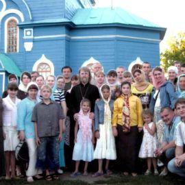 Самара, Ташла, Троицкий храм, где мы остановились на ночлег Екатеринбург 2008