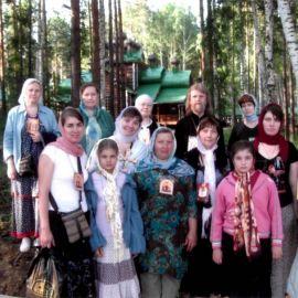 Екатеринбург, Ганина Яма, монастырь, построенный на месте уничтожения останкой Царской Семьи Екатеринбург 2008