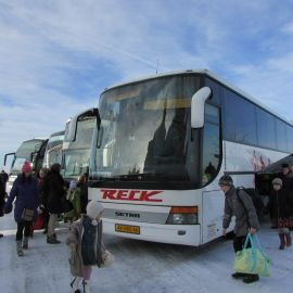 Вот и долгожданная цель - Свято-Успенская Почаевская лавра Паломническая поездка в Почаевскую лавру на Новый 2017 год