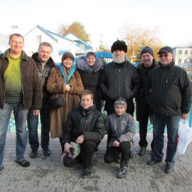 Спаси Господи батюшку Виктора за поездку! Паломническая поездка в Почаевскую лавру на Новый 2017 год