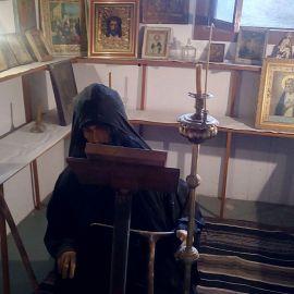 Восковой монах в музее одного из монастырей Фотоотчет из поездки на Афон 2017