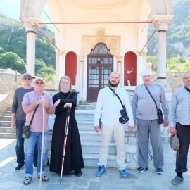 Передвигаться пешком по Святой Горе - дело тяжелое Фотоотчет из поездки на Афон 2017
