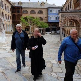 Как и во время пеших марш-бросков по территории монастырей и между ними Фотоотчет из поездки на Афон 2017