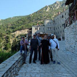 Отец Виктор и его духовные чада на Афоне Фотоотчет из поездки на Афон 2017