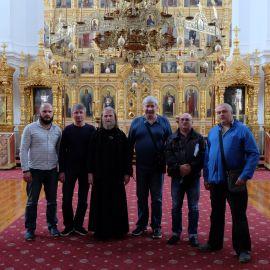 Паломники в монастыре Каракал Фотоотчет из поездки на Афон 2017