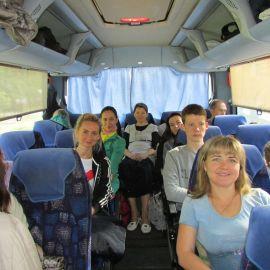 В дороге Паломническая поездка к мощам святителя Спиридона и блаженной Матроны