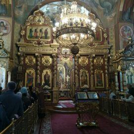 Иконостас Преображенского собора в Белгороде Паломническая поездка к мощам святителя Спиридона и блаженной Матроны