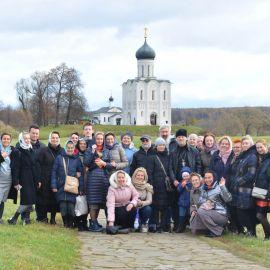 Часто церковь Покрова на Нерли называют самым красивым русским храмом Паломническая поездка Боголюбово — Муром — Дивеево. 11-17.10.2019 г.