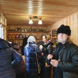 Монастырская кофейня Поездка в Почаевскую лавру. 30.12.2019-02.01.2020 г.