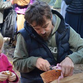 Украинская вылазка немыслима без сала:)  Выезд на природу, 4.09.2021 г.