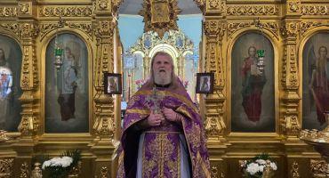 Добавлена проповедь в Лазареву субботу