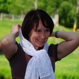Участница конкурса «Православная красавица» от команды «Весна» Отдых на природе духовных чад отца Виктора 26 мая 2013 г.