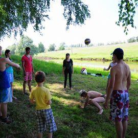 Молодежь отдыхает активно Отдых на природе духовных чад отца Виктора 26 мая 2013 г.