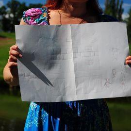 А фишки этого проекта - терраса перед домом и большая семья Отдых на природе духовных чад отца Виктора 26 мая 2013 г.