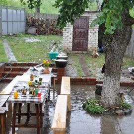 И даже дождик не испортил светлое праздничное настроение Праздник Озерянской иконы Божьей Матери. 29.06.2015 г.