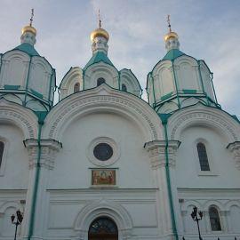 Успенский собор, Святогорская лавра Паломническая поездка в Святогорскую Лавру. 9-10 апреля 2016 г.