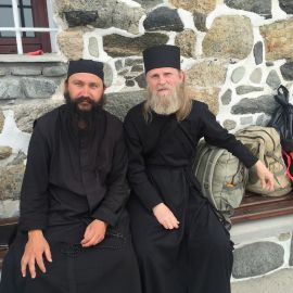 Паломническая поездка отца Виктора на Афон. 6-13.05.2016 г.
