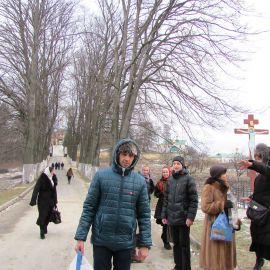 Пора в обратный путь, в лавру! Паломническая поездка в Почаевскую лавру на Новый 2017 год