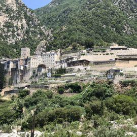 Афонский монастырь Фотоотчет из поездки на Афон 2017