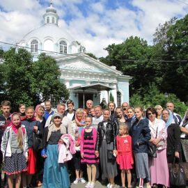 Храм Смоленской иконы Божией Матери Паломническая поездка к святыням Санкт-Петербурга
