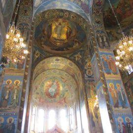 Знаменитая мозаика храма Спаса на Крови Паломническая поездка к святыням Санкт-Петербурга