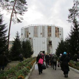 В Рождества Богородицы мужском монастыре проводится много строительных работ Паломническая поездка в Глинскую пустынь. 21-22.10.2017 г.